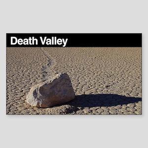 Death Valley National Park Sticker (Rectang
