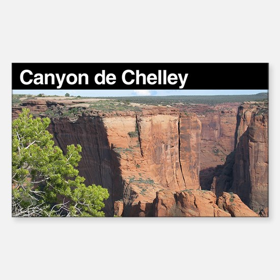 Canyon de Chelley National Mo Sticker (Rectangular