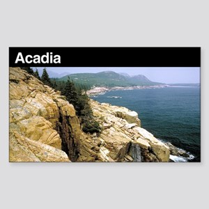 Acadia National Park Rectangle Sticker