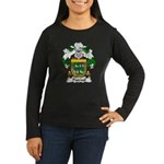 Pascual Family Crest Women's Long Sleeve Dark T-Sh