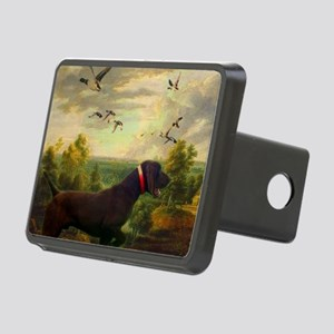 vintage hunting pointer do Rectangular Hitch Cover