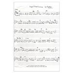 handwritten sheet music composed by Kristie Hubler