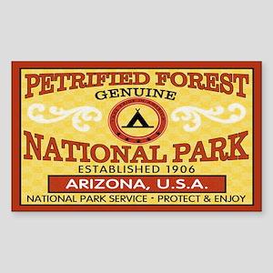 Petrified Forest National Park Sticker (Rectan.)