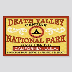 Death Valley National Park Rectangle Sticker