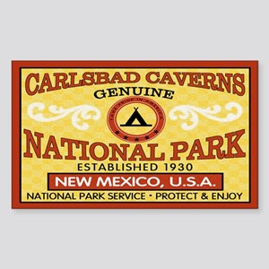 Carlsbad Caverns National ParRectangle Sticker