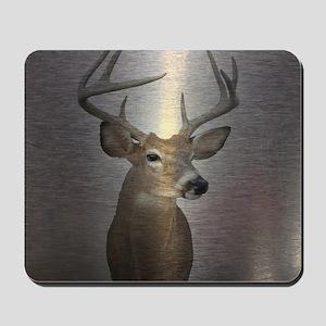 grunge texture western deer Mousepad