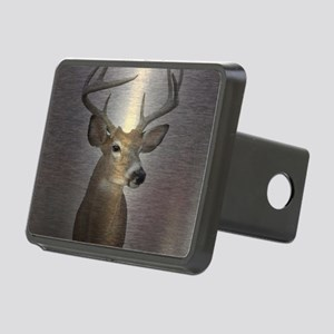 grunge texture western dee Rectangular Hitch Cover