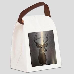 grunge texture western deer Canvas Lunch Bag