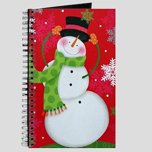 Happy Snowman Journal