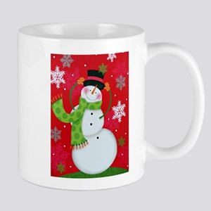 Happy Snowman Mugs