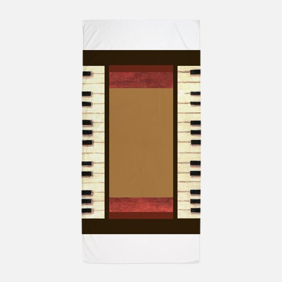 Piano Keys Frame Border music for 5x7 chocolate Be