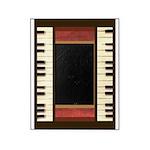 Piano Keys Frame Border music for 5x7 chocolate Pi