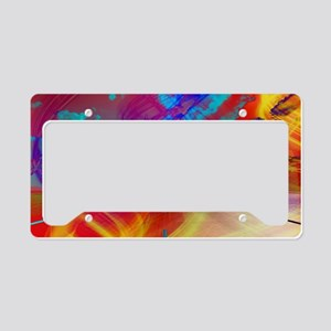 Vibrant Travel License Plate Holder