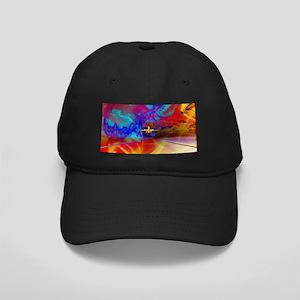 Vibrant Travel Black Cap