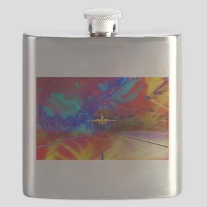 Vibrant Travel Flask