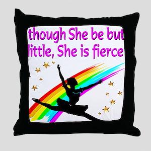 DANCER DREAMS Throw Pillow