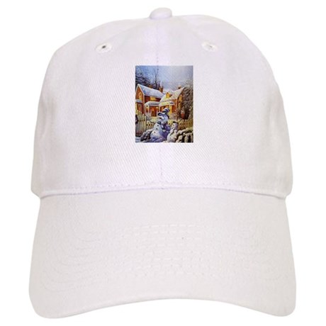 Father   Son Snowman Baseball Baseball Cap by FrankieCat 395613722ea