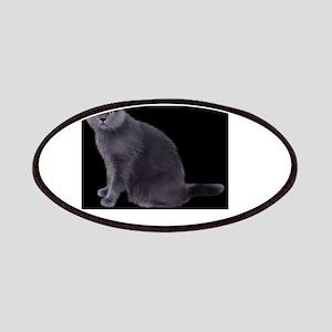 grey cat Patch