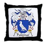 Palomar Family Crest Throw Pillow