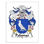 Palomar Family Crest Small Poster