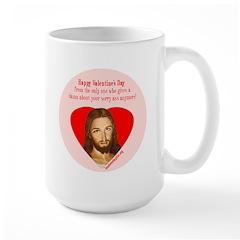 Sorry Ass Valentine Large Mug