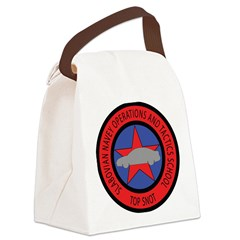 TOP SNOT Canvas Lunch Bag