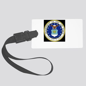 air force Large Luggage Tag