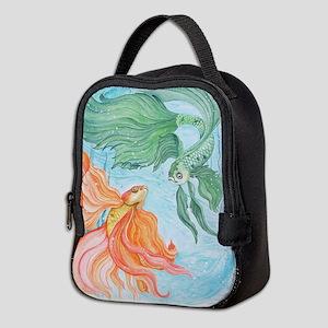 Beta Fish Neoprene Lunch Bag