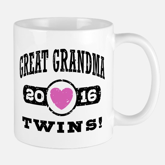 Great Grandma 2016 Twins Mug