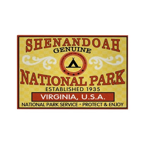 Shenandoah National Park Rectangle Magnet