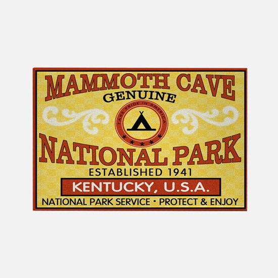 Mammoth Cave National Park Rectangle Magnet