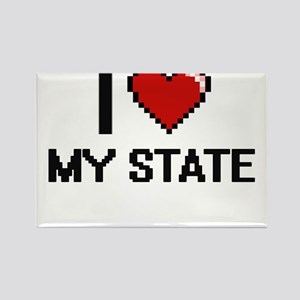 I love My State Magnets