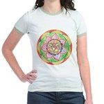 Orange Mandala T-Shirt