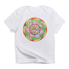 Orange Mandala Infant T-Shirt