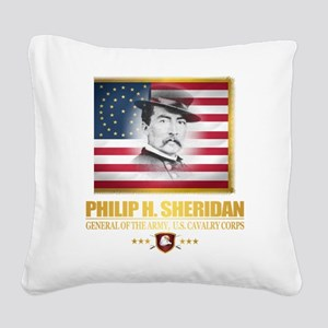 Sheridan (C2) Square Canvas Pillow