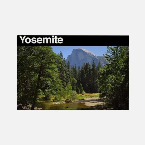 Yosemite National Park Rectangle Magnet