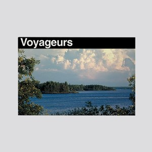 Voyageurs National Park Rectangle Magnet