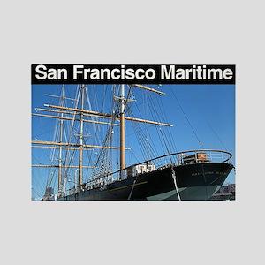 San Francisco Maritime NHP Rectangle Magnet