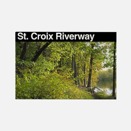 St. Croix NSR Rectangle Magnet