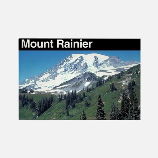 Mount Rainier National Park Rectangle Magnet