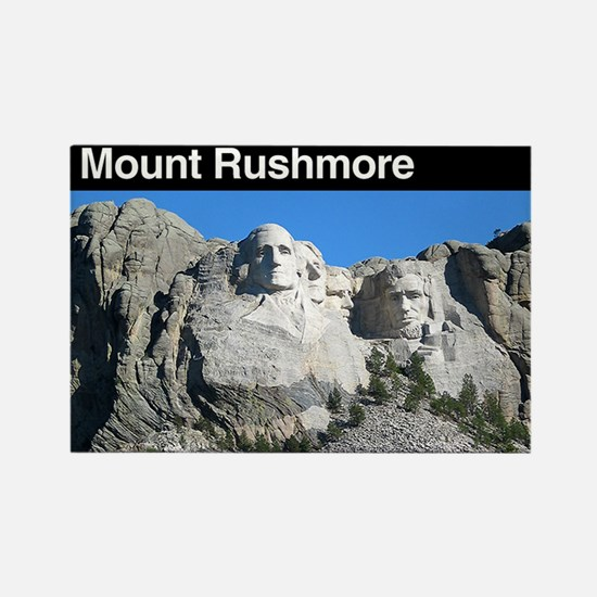 Mount Rushmore NM Rectangle Magnet