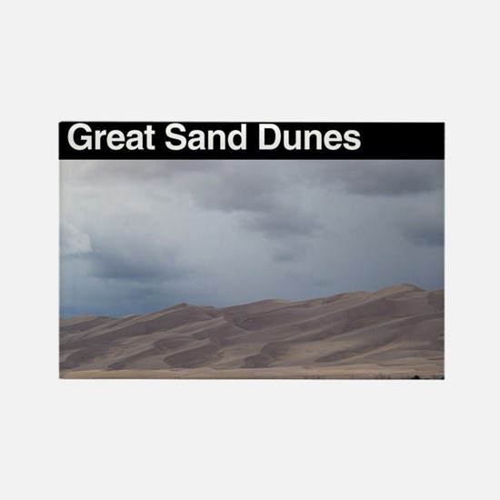 Great Sand Dunes NP Rectangle Magnet