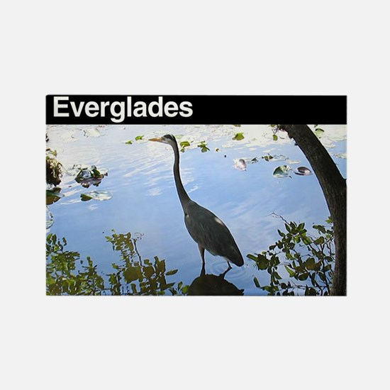 Everglades National Park Rectangle Magnet