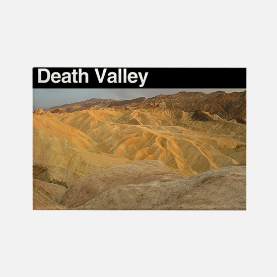 Death Valley NP Rectangle Magnet