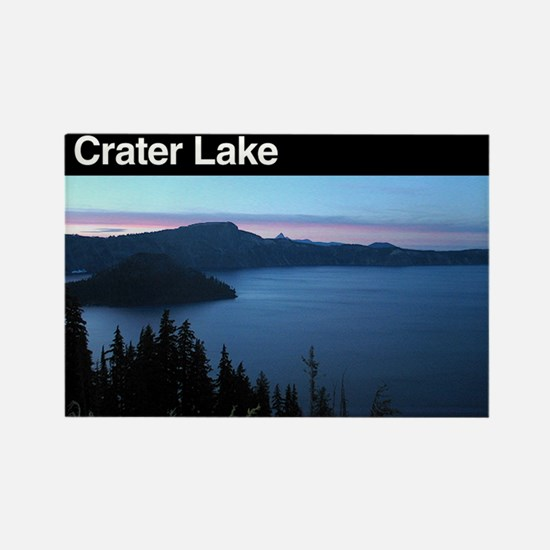 Crater Lake NP Rectangle Magnet