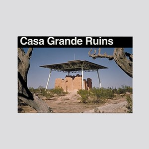 Casa Grande Ruins NM Rectangle Magnet