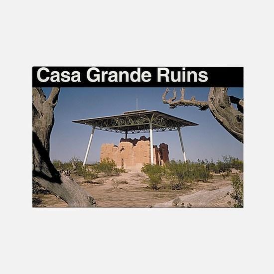 Casa Grande Ruins NM Rectangle Magnet