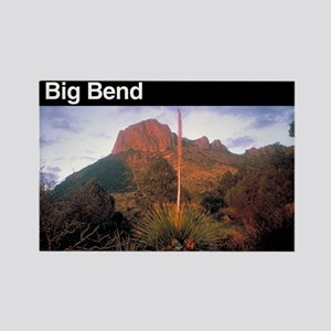 Big Bend National Park Rectangle Magnet