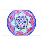 Blue Mandala Postcards (Package of 8)