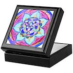 Blue Mandala Keepsake Box